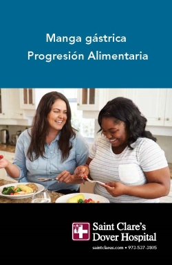 Vertical Sleeve Gastrectomy Diet Progression Book in Espanol